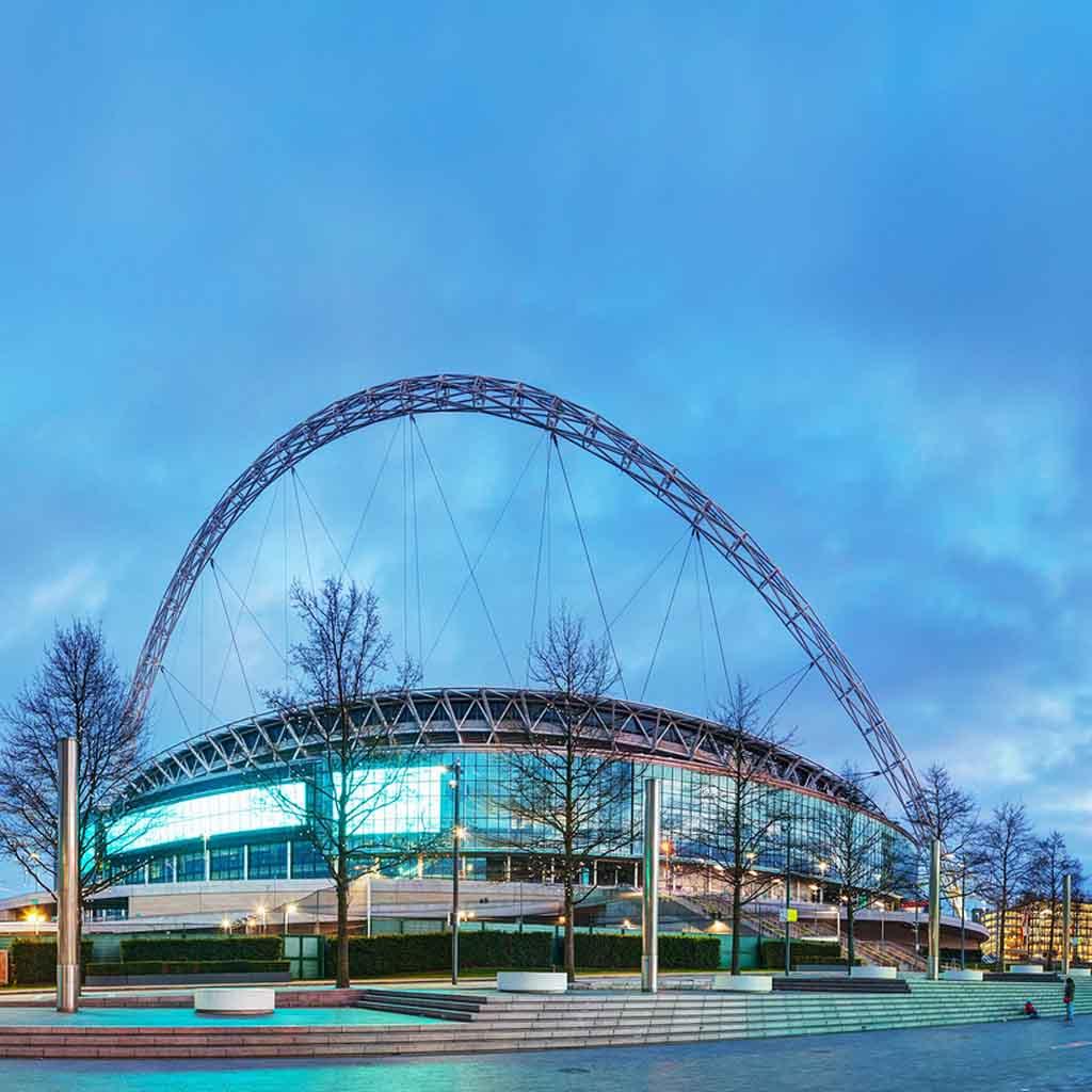 Wembley Stadium London | Lesley Morris Associates