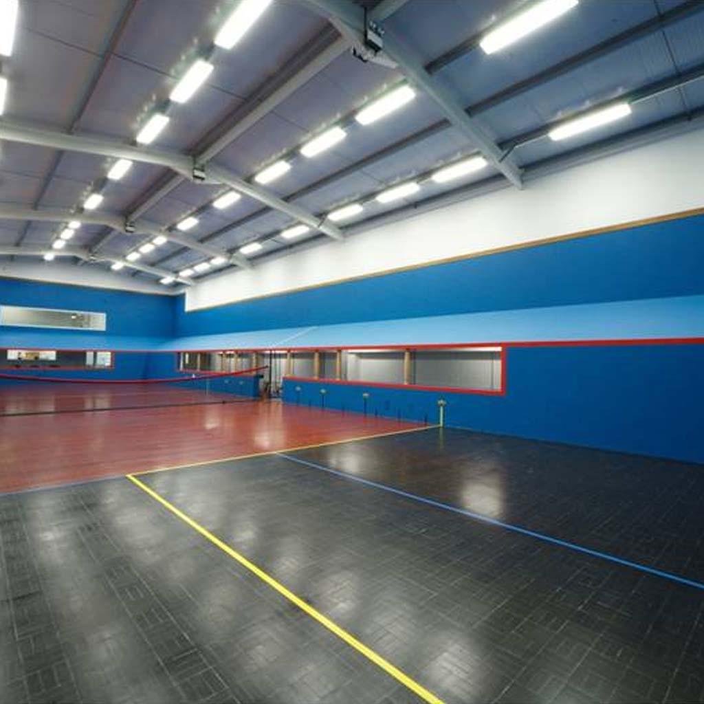 Radley Tennis Court Abingdon | Lesley Morris Associates